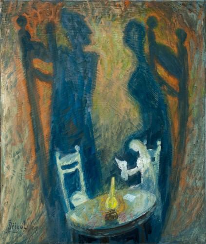 Michail-Scigol---Krizova-cesta-totality---Akce-K---04---Setkani-s-matkou