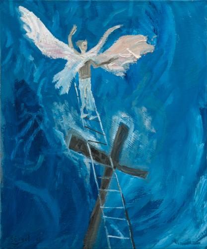 Michail-Scigol---Krizova-cesta-totality---Akce-K---12---Jezis-umira