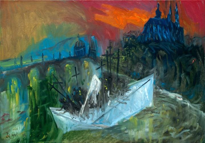 Michail-Scigol---Krizova-cesta-totality---Akce-K---17---Lod