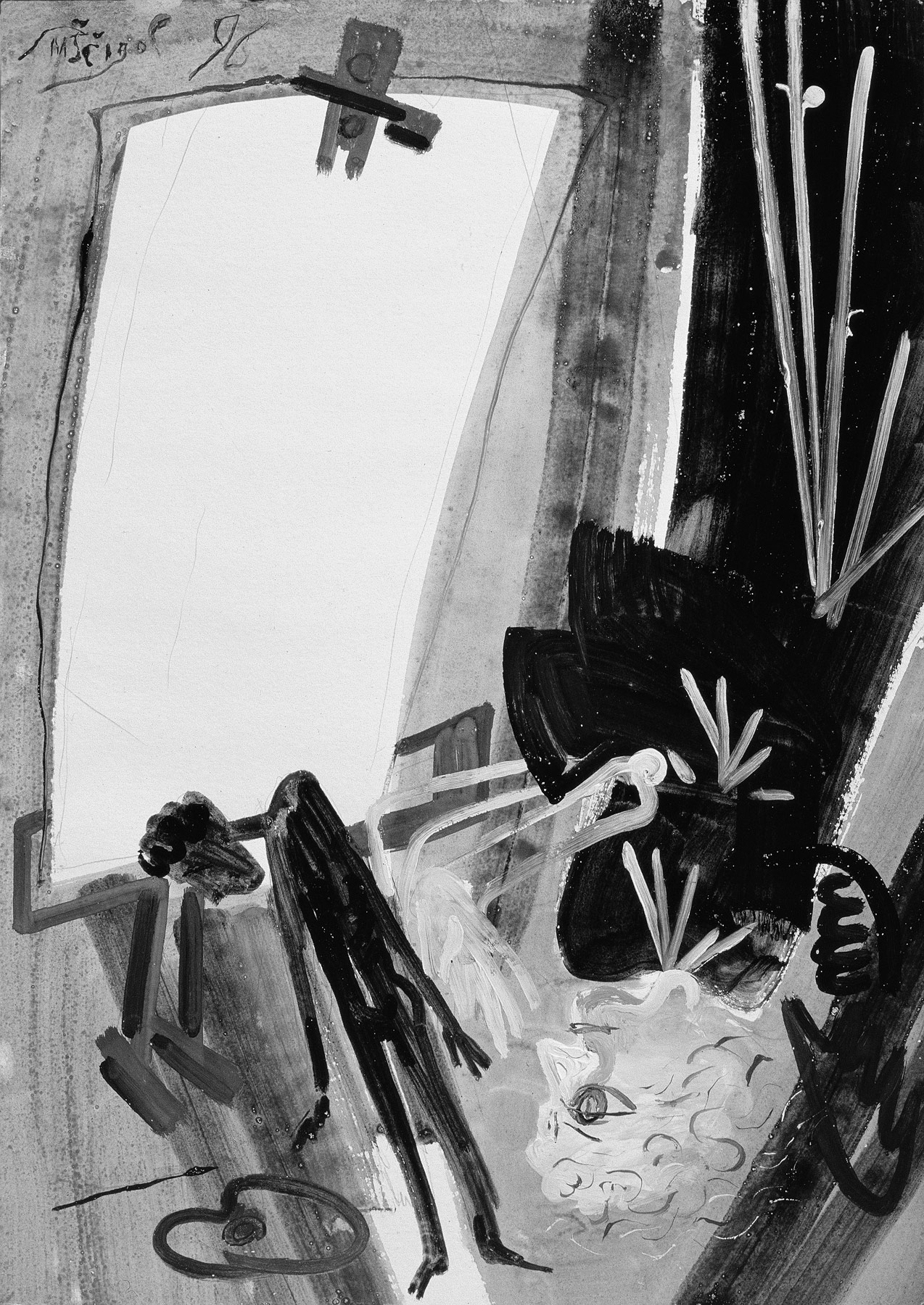 Malba Atelier Tempery Z Cernobileho Soukromi Michail Scigol